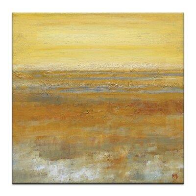 Artist Lane Mirage by Karen Hopkins Art Print Wrapped on Canvas