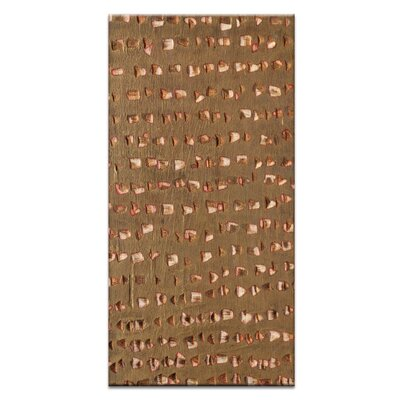 Artist Lane Ad Infinitum #10 by Katherine Boland Art Print Wrapped on Canvas in Brown