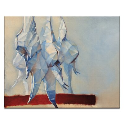 Artist Lane Guards by Olena Kosenko Graphic Art Wrapped on Canvas