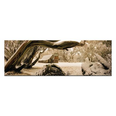 Artist Lane Snow Shelter by Andrew Brown Photographic Print Wrapped on Canvas