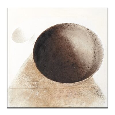 Artist Lane Convex, Concave by Gill Cohn Graphic Art Wrapped on Canvas