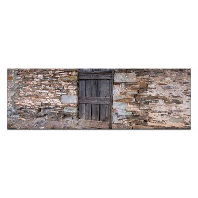 Artist Lane Stone Fenc by Andrew Brown Photographic Print on Canvas in Beige