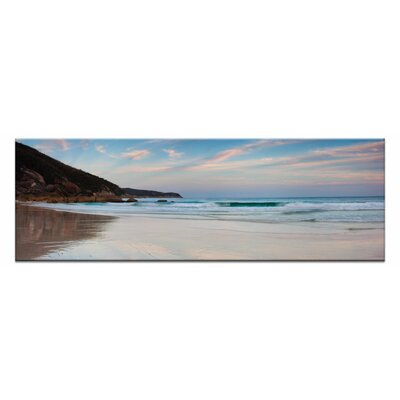 Artist Lane Turquoise Tube by Andrew Brown Photographic Print Wrapped on Canvas in Blue/Brown