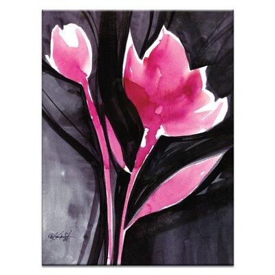 Artist Lane Organic Impressions No.10 by Kathy Morton Stanion Art Print Wrapped on Canvas