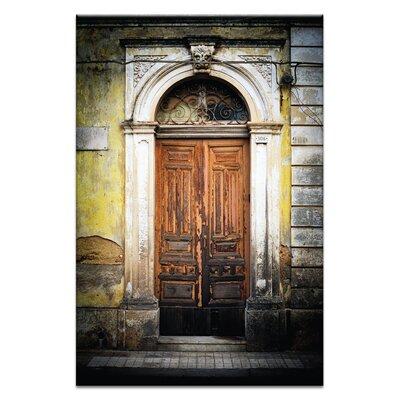 Artist Lane Doors of Italy - Ionico by Joe Vittorio Photographic Print on Canvas