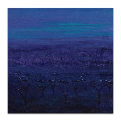 Artist Lane From the Vineyard to the Sea by Karen Hopkins Graphic Art Wrapped on Canvas