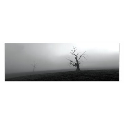 Artist Lane Out of of the Mist by Andrew Brown Photographic Print Wrapped on Canvas in Black/White