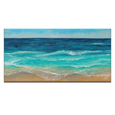 Artist Lane Peaceful Sea by Jennifer Webb Art Print on Canvas