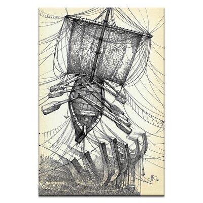 Artist Lane Fly with Me, Study by Olena Kosenko Art Print Wrapped on Canvas