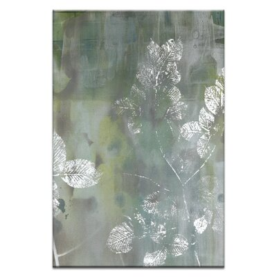 Artist Lane Foliage 1 by Sally Adams Graphic Art Wrapped on Canvas
