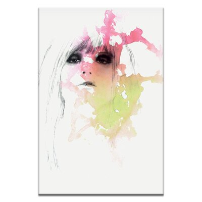 Artist Lane Fear Lust by Steve Leadbeater Graphic Art Wrapped on Canvas