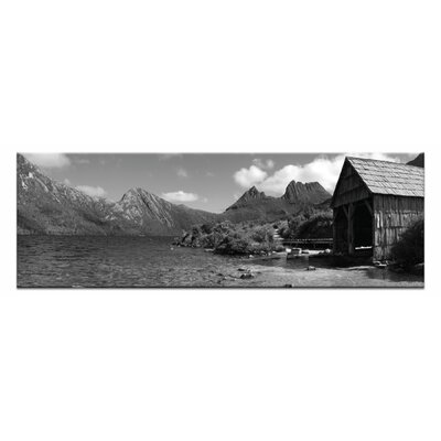 Artist Lane Summer Boatshe by Andrew Brown Photographic Print on Canvas in Black