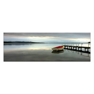 Artist Lane Tranquil Waters by Andrew Brown Photographic Print on Canvas in Blue
