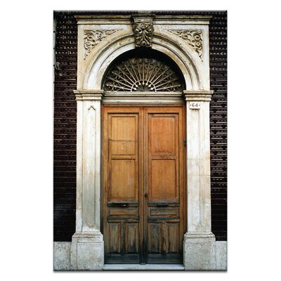 Artist Lane Doors of Italy - Tegola Circondano by Joe Vittorio Photographic Print Wrapped on Canvas