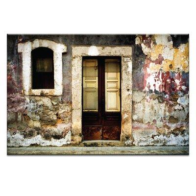 Artist Lane Doors of Italy - Panorama by Joe Vittorio Photographic Print on Canvas