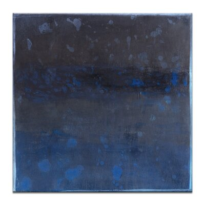 Artist Lane Water World 1 by Katherine Boland Art Print Wrapped on Canvas in Blue