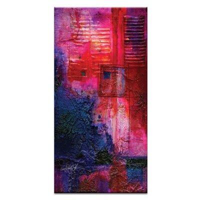 Artist Lane Magic Portal No.2 by Kathy Morton Stanion Art Print on Canvas