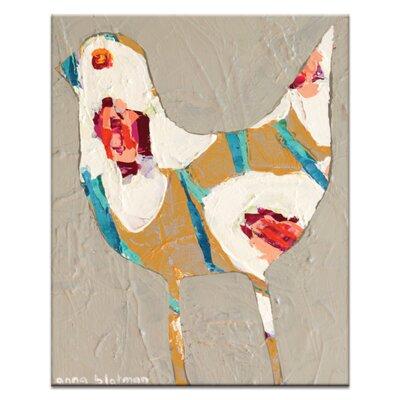 Artist Lane Baby Bird by Anna Blatman Art Print Wrapped on Canvas