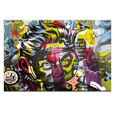 Artist Lane Only Love by Dan Monteavaro Graphic Art Wrapped on Canvas