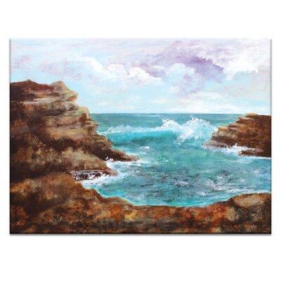 Artist Lane Ocean Inlet I by Jennifer Webb Art Print on Canvas