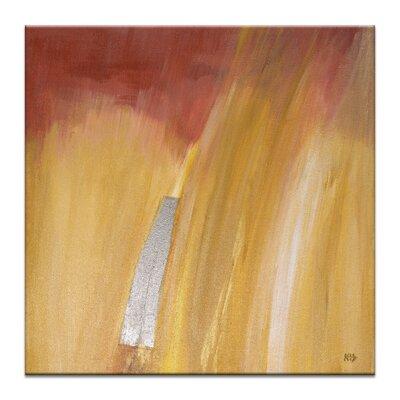 Artist Lane Fire Study 4 by Karen Hopkins Art Print Wrapped on Canvas