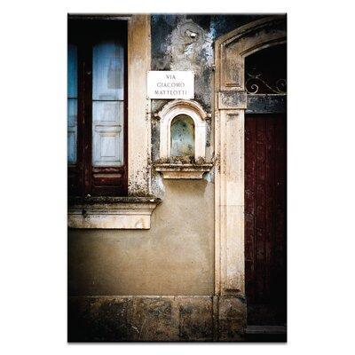 Artist Lane Doors of Italy - Romano by Joe Vittorio Photographic Print on Canvas