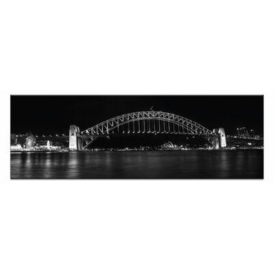 Artist Lane Harbour Delight by Andrew Brown Photographic Print on Canvas in Black