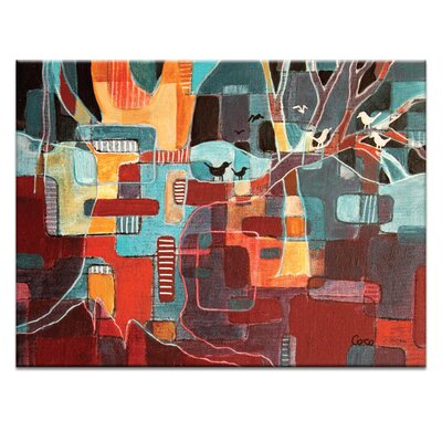 Artist Lane All in the One Tree Graphic Art on Canvas