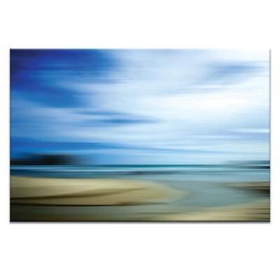 Artist Lane A Day by the Sea by Caroline Gorka Art Print Wrapped on Canvas