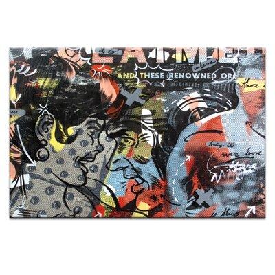 Artist Lane Acclaimed by Dan Monteavaro Graphic Art on Canvas