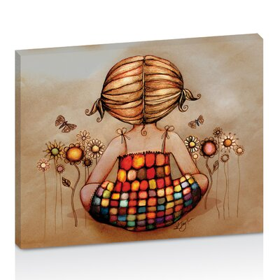Artist Lane The Little Dreamer by Karin Taylor Art Print Wrapped on Canvas