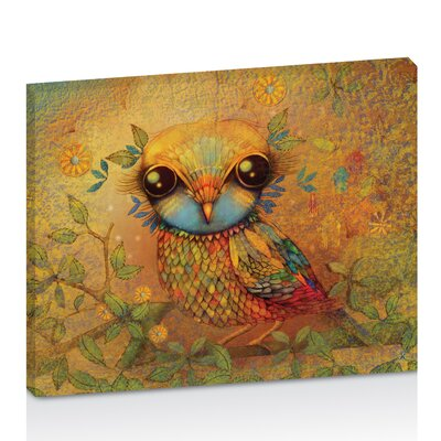 Artist Lane The Love Bird by Karin Taylor Art Print Wrapped on Canvas