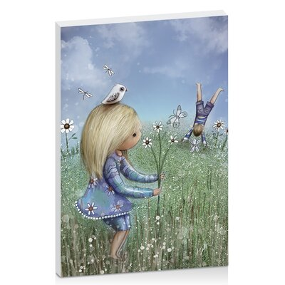 Artist Lane Moments of Innocence by Karin Taylor Art Print Wrapped on Canvas