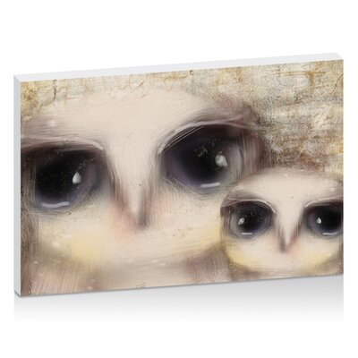 Artist Lane Little Owls by Karin Taylor Art Print on Canvas