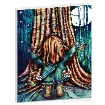 Artist Lane Tree Hug by Karin Taylor Art Print Wrapped on Canvas