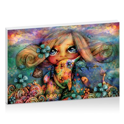 Artist Lane Dolphin Hugs by Karin Taylor Art Print on Canvas