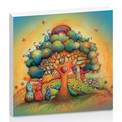 Artist Lane Gnome Babies by Karin Taylor Art Print on Canvas