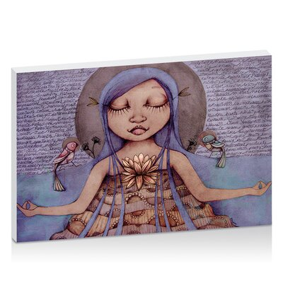 Artist Lane Affirmation by Karin Taylor Art Print Wrapped on Canvas