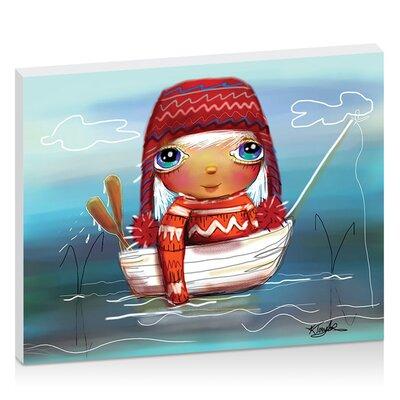 Artist Lane Fishing Trip by Karin Taylor Art Print on Canvas