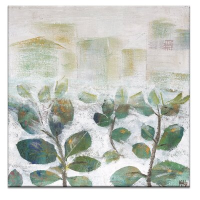 Artist Lane Growth 2 by Karen Hopkins Art Print Wrapped on Canvas