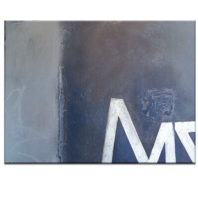Artist Lane Clyde St by Katherine Boland Graphic Art Wrapped on Canvas in Grey
