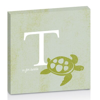 Artist Lane T for Turtle by Toni Prime Graphic Art Wrapped on Canvas in Green