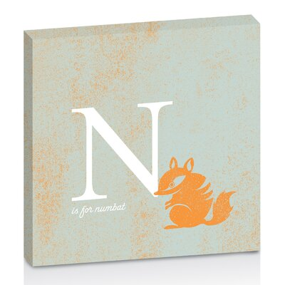 Artist Lane N for Numbat by Toni Prime Graphic Art Wrapped on Canvas in Orange/White