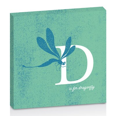 Artist Lane D for Dragonfly by Toni Prime Graphic Art Wrapped on Canvas in Green
