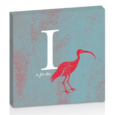 Artist Lane I for Ibis by Toni Prime Graphic Art Wrapped on Canvas in Blue