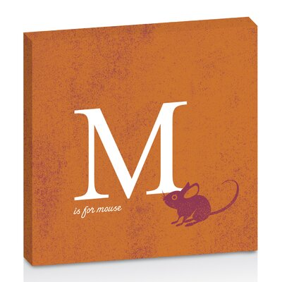 Artist Lane M for Mouse by Toni Prime Graphic Art on Canvas in Orange