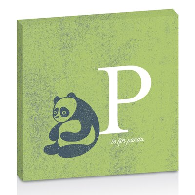Artist Lane P for Panda by Toni Prime Graphic Art Wrapped on Canvas in Green