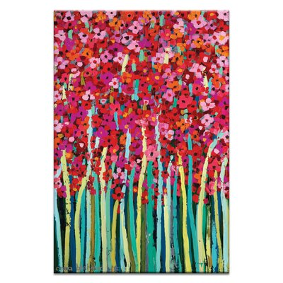 Artist Lane Pink Jonquil by Anna Blatman Art Print on Canvas