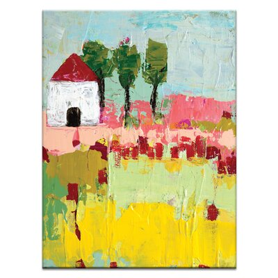 Artist Lane Simi's Settlement by Anna Blatman Art Print on Canvas
