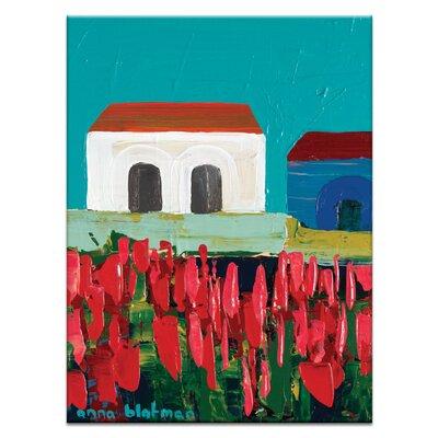 Artist Lane Geelong by Anna Blatman Art Print on Canvas